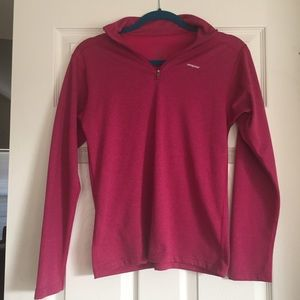 Fuchsia Patagonia Girl's Pullover